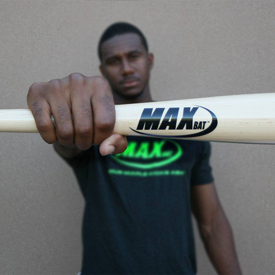 Player holding bat