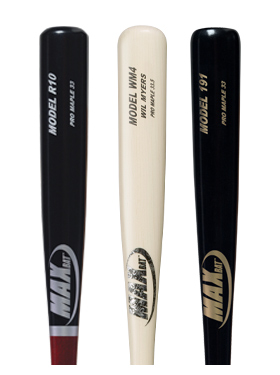 Maple Baseball Bats | Wood Baseball Bats By MaxBat